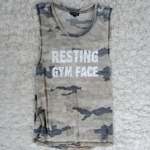 Express camo muscle tank.